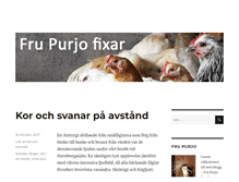 Tablet Preview of frupurjofixar.se